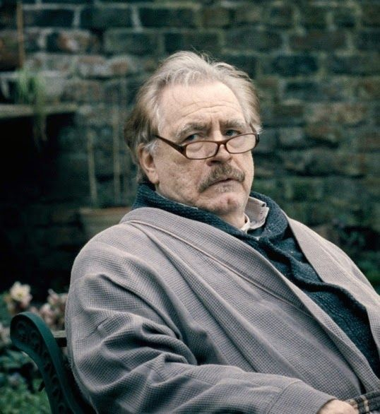 Here's my other male character, Dave. All the way through writing the book, I had pretty much this exact image of the amazing actor Brian Cox in my head whenever I wrote Dave.