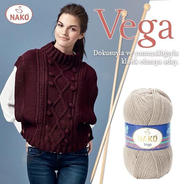Sizce de göz kamaştırıcı değil mi? Klasikleşmeye aday yeni Nako Vega. 😊😍 #nakoiplikeri #nakoileörüyorum #nako #sevgiyleörüyorum #sevgiyle #sevgiyleörüyoruz #iplik #yarn #handmade #handknittingyarn #handknitting #örgüaşkı #örgü #knit #knitting #fashion #colorful #colors #renkli #renk#vega