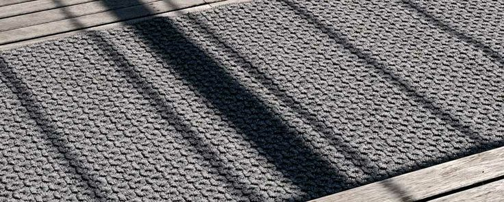 Arles is a handwoven rug for your outdoor space