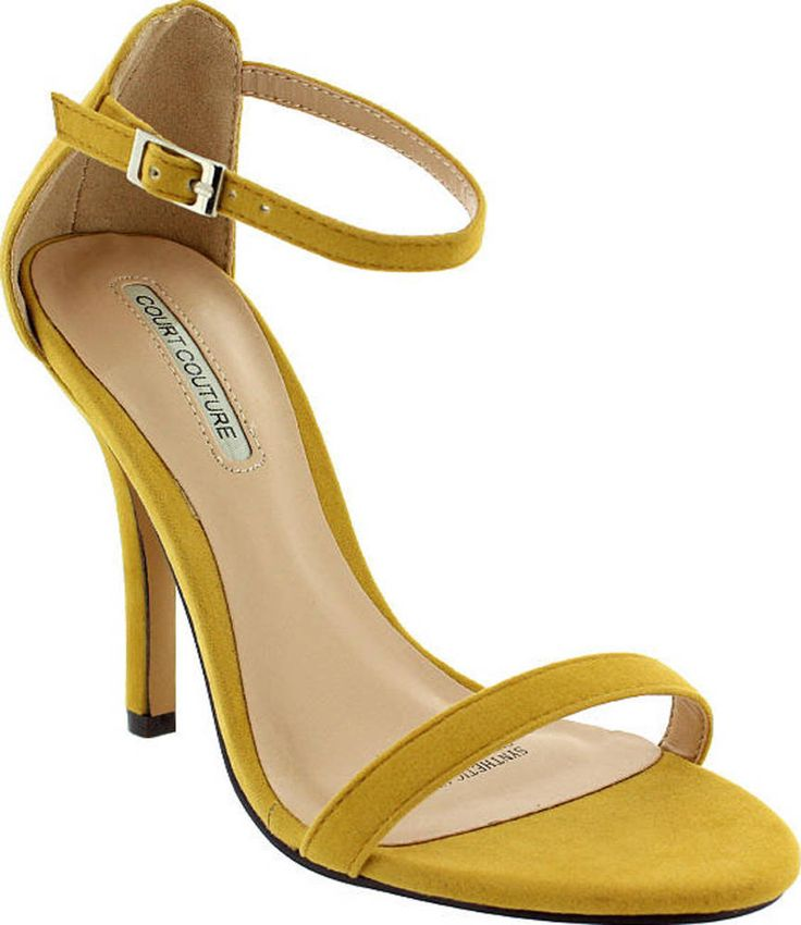 Court Couture ANYA in Yellow