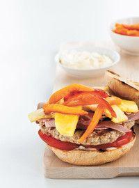 HAWAIIAN-STYLE PORK BURGERS   Grill's just wanna have fun   Pinterest