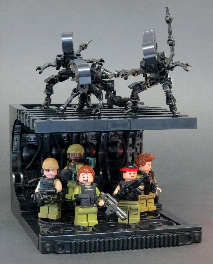 "LEGO ""Aliens' scene"