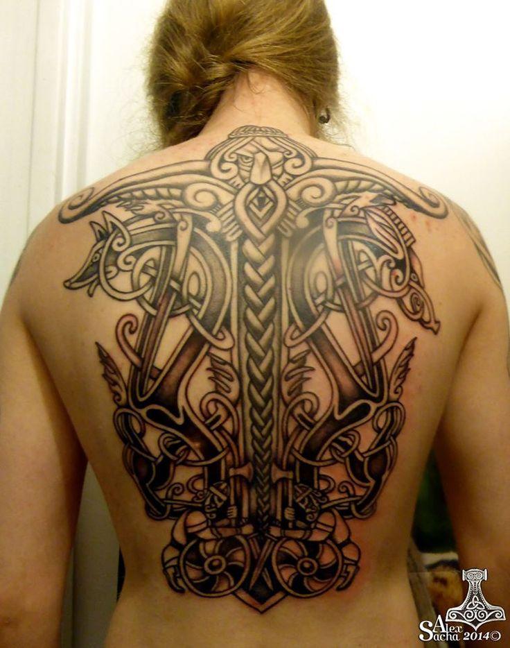Viking tattoo - Paris