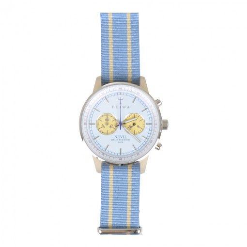 TRIWA ALABASTER LAVENDER NEVIL WATCH. Get it here: http://www.fernerjacobsen.no/sortiment/herre/assessoirer/klokker/triwa-alabaster-lavender-nevil-watch  #watch #triwa #mensfashion