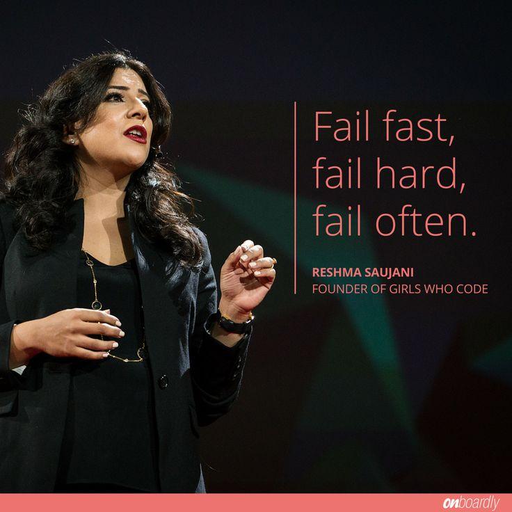 Reshma Saujani Quote