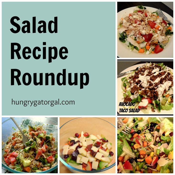 Healthy salad recipes from hungrygatorgal.com