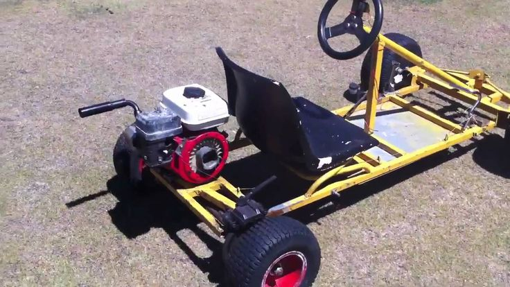 how to build a go cart