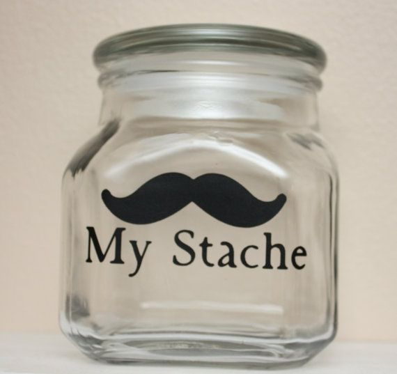 To cute to keep your stache a secret