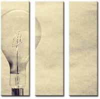 light bulb | Art 5008 | Modern Mural