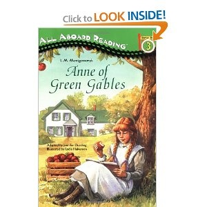 "I've watched the movie, but finally read the book.  Gotta love Anne ""with an E"".: Jennifer Dussl, Green Gables, Aboard Reading, Books Worms, Books Worth, Lydia Halverson, Favorite Books, Reading Lists, Books Parties"