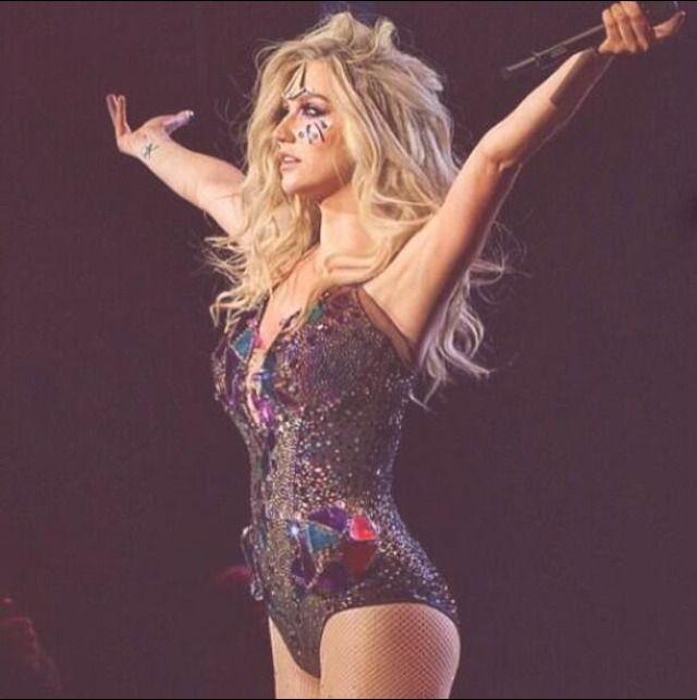 Kesha Warrior Tour♥ #Kesha #Kesha_Sebert #Celebrities