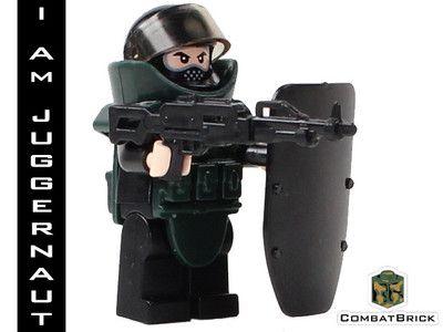 Juggernaut Custom Lego Army Military Minifig Modern Warfare Machine GUN EOD Suit | eBay