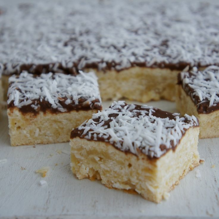 #RecipeoftheDay: Lamington Slice by oldsheila