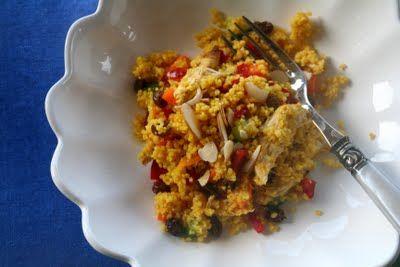 Mat På Bordet | En matblogg med oppskrifter fra morgen til kveld | Marrokansk couscoussalat med marinert kylling