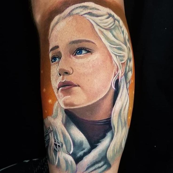Color portrait tattoos by tattoo artist kyle chaney