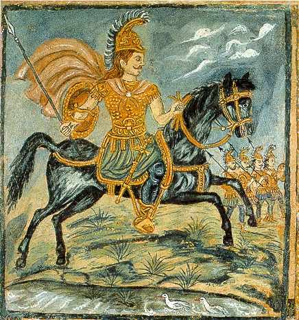 Theofilos (Chatzimichail) , Alexander the Great