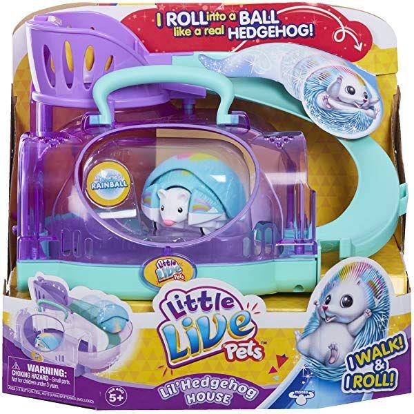 Little Live Pets 28414 S5 Lil Turtle Tank Multi Color 7 09 X 9 17 X 7 28 Amazon Co Uk Toys Games In 2020 Little Live Pets Pet Hedgehog House Hedgehog House