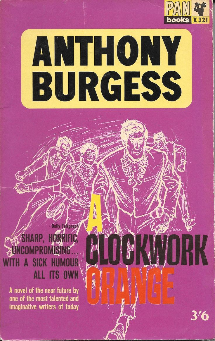 What is a clockwork orange book about-3776