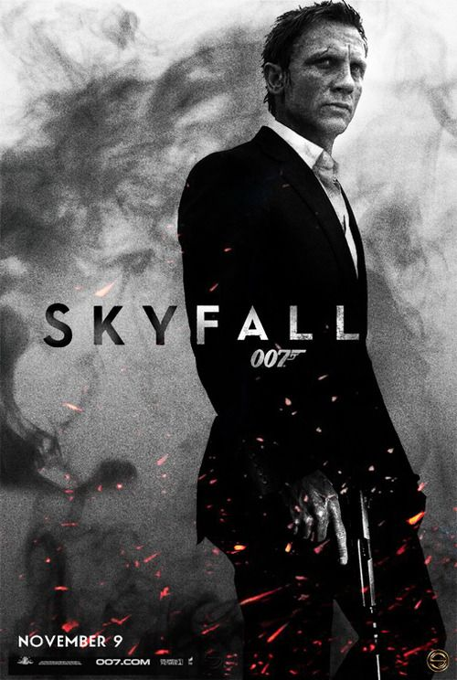 Movie Poster Movement — Skyfall by Sahin Düzgün