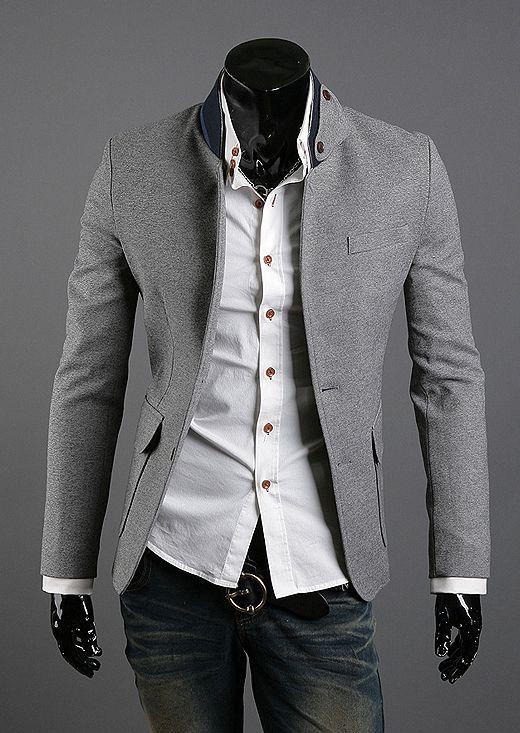NYfashioncity Mens grey Jacket