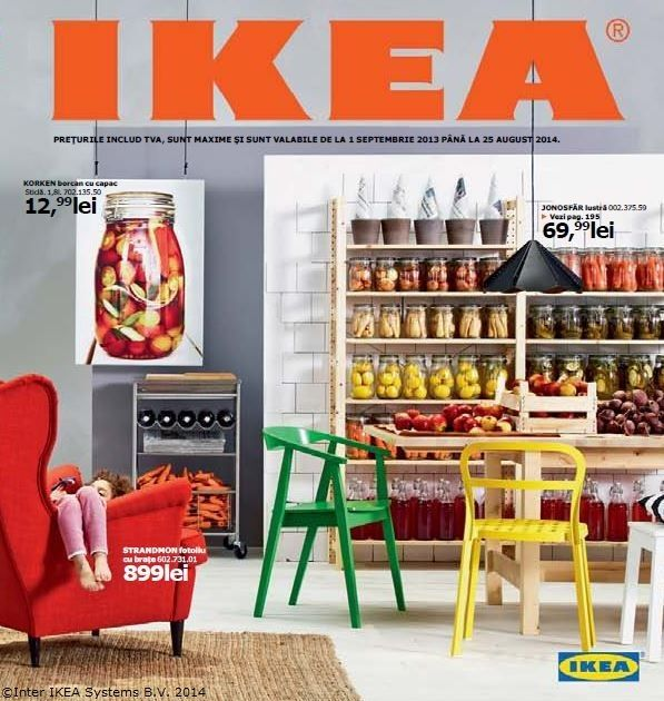 Catalogul IKEA 2014, 326 de pagini de inspirație și soluții pentru acasă.