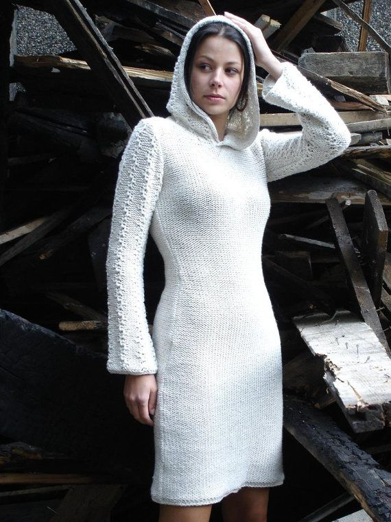 hooded dress by Rewella on Etsy