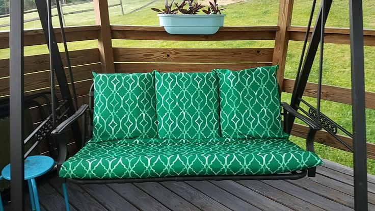 Best 25+ Porch Swing Cushions Ideas That You Will Like On