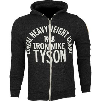 Roots of Fight Iron Mike Tyson 1988 Hoodie,Black,large