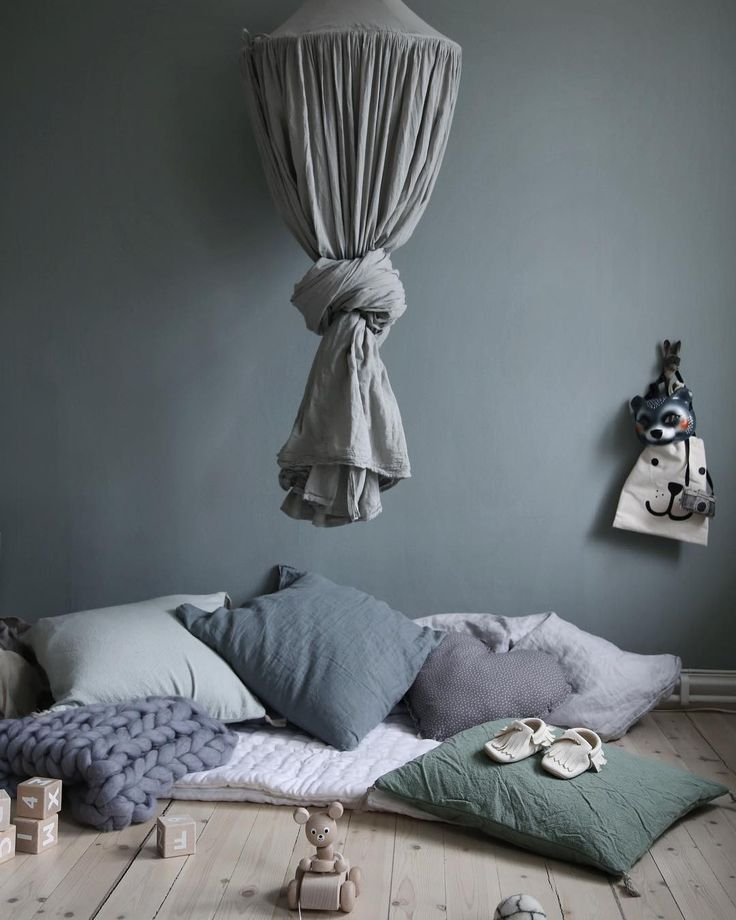Favorite cozy relaxing space... Numero74 Silver Grey canopy