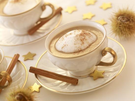 Maronen-Cappuccino-Suppe Rezept | Dr. Oetker