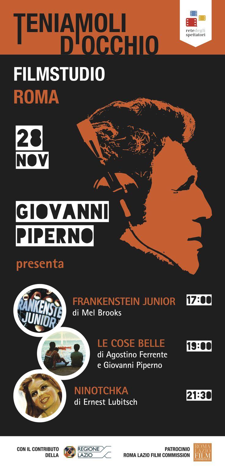 Grande serata al #Filmstudio di Roma: #Ninotchka in pellicola 35mm e #FrankesteinJR, in lingua originale con sottotitoli