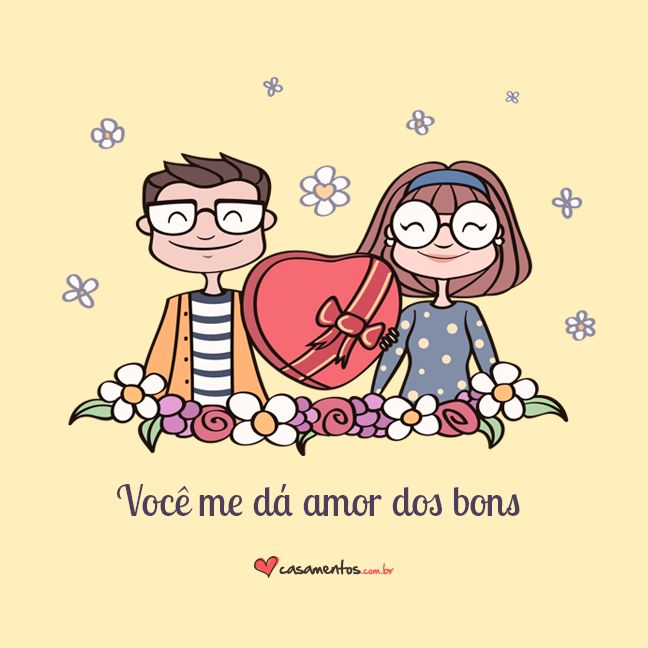 Frases de amor do casamentos.com.br  Compartilhe com a sua alma gêmea.
