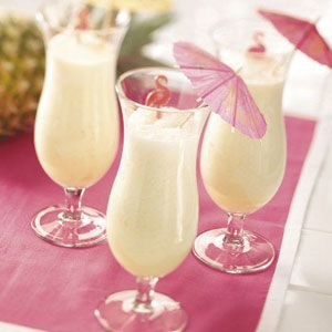Tropical Pineapple Smoothies Recipe