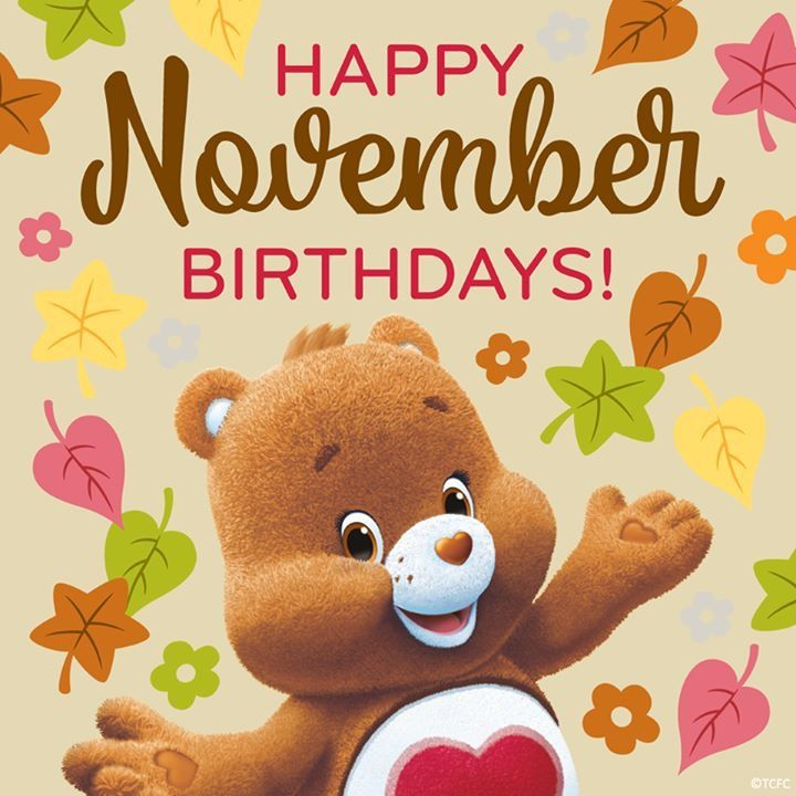 It's just a photo of Exhilarating November Birthday Clipart