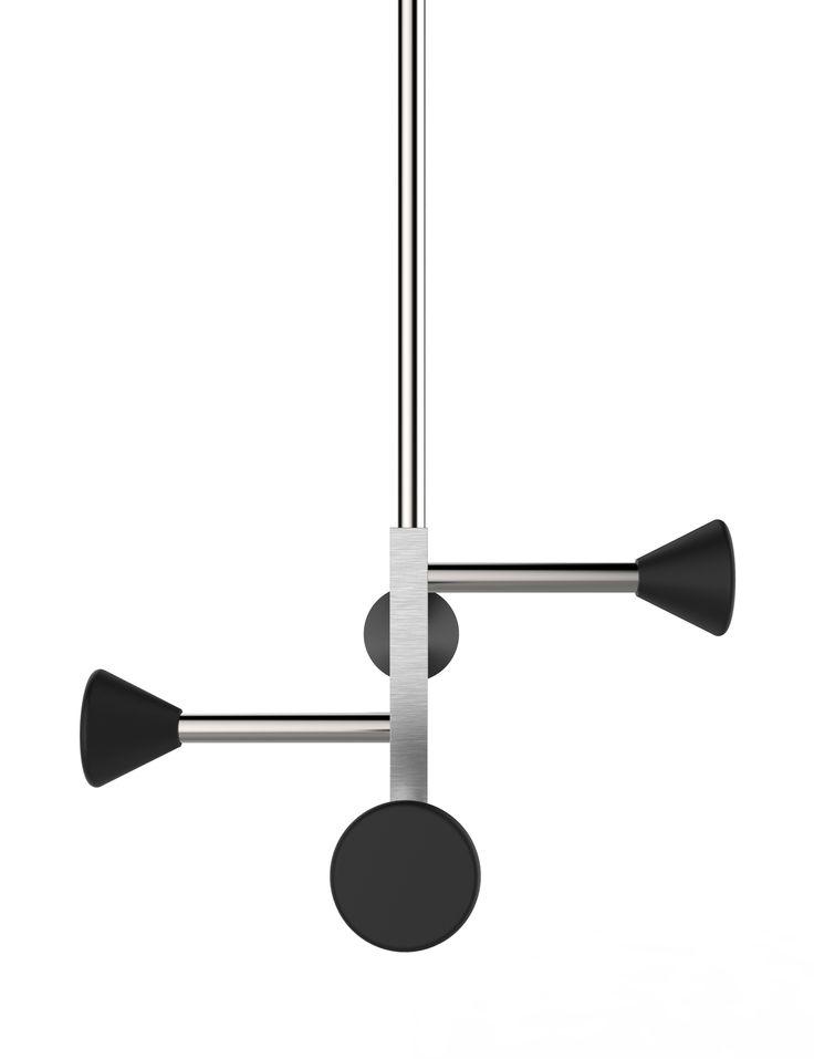 Insilvis FULLSTOP 5, ceiling coat rack