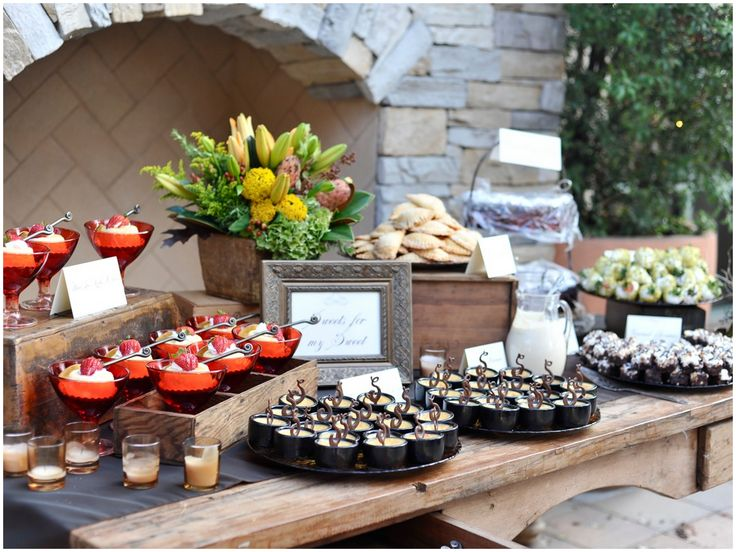 Dessert Stations Catering Chronicles Food For Thought