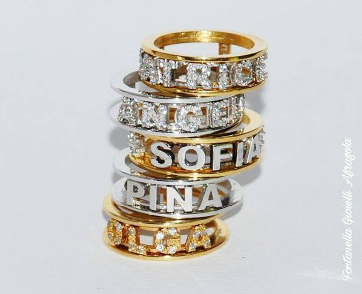 Il nuovo ed unico anello con nome!