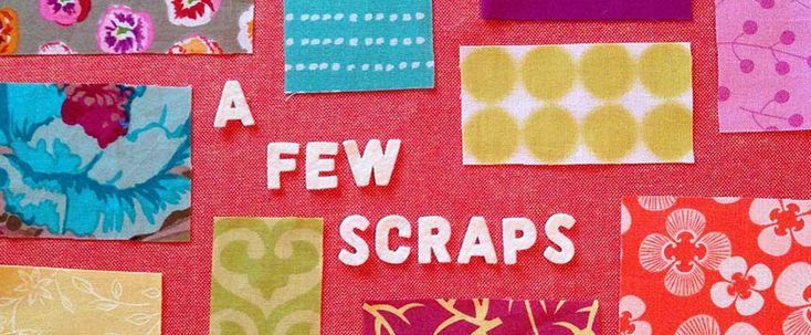 A Few Scraps - heel veel free motion patronen voor doorpitten plus uitleg en tips!