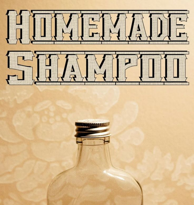 Sustainable: homemade shampoo and toothpaste