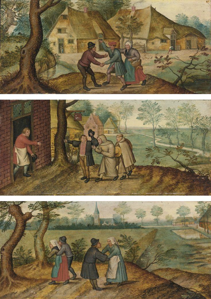 brueghel, pieter, the younge ||| genre scene ||| sotheby's n09335lot4d86ben