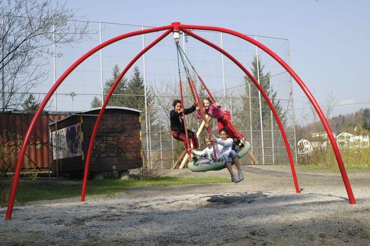 Bimbo Basket Swing - Playground Centre