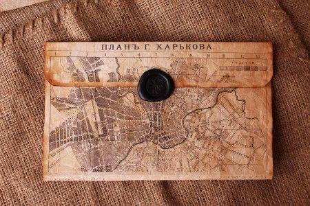 Конверт пергаментная бумага «Харьков»