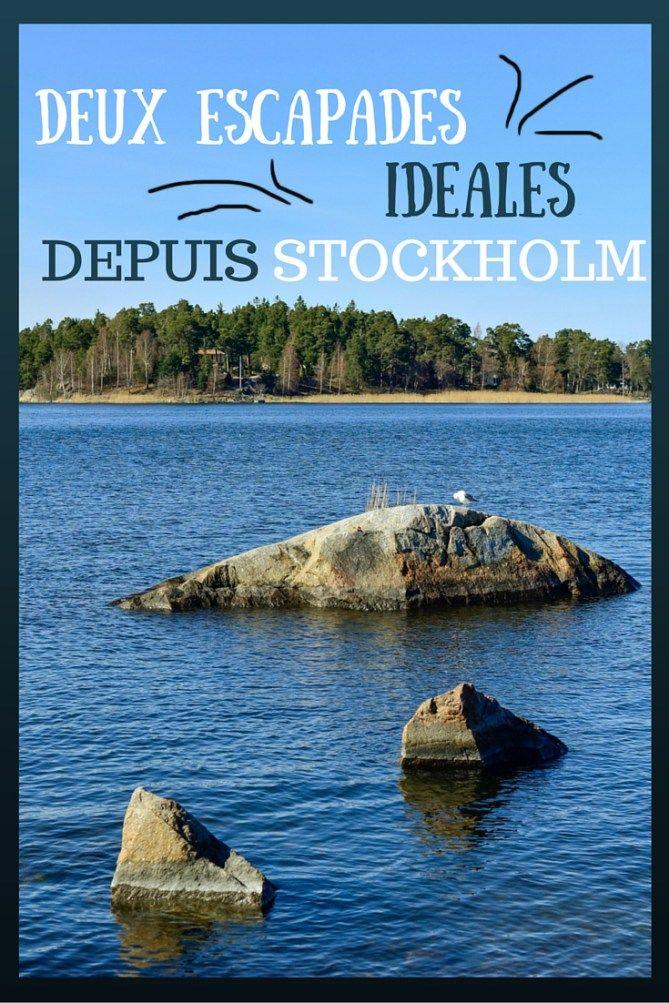 Deux escapades idéales depuis Stockholm