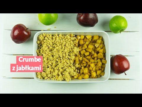 Crumble z jabłkami - chrupiący deser