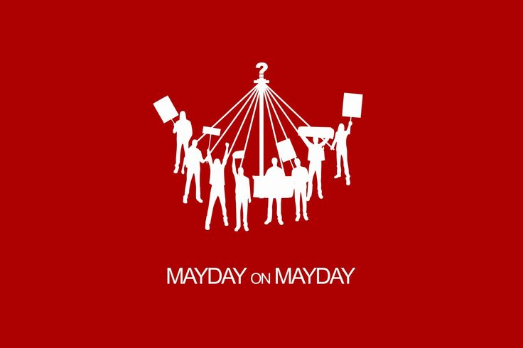#maydayparade and #maypole on #mayday #internationallabourday  - #hariburuh #2017  #tsalmandigitalart