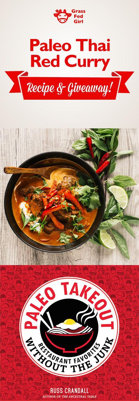 Paleo Thai Red Curry | https://www.grassfedgirl.com/paleo-thai-red-curry-recipe/