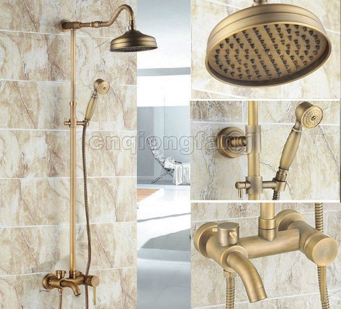 Color may vary slightly due to the color calibration of each individual monitor. Our faucets/shower set -- Constructed from solid brass with stunning plated finish. -- Blends quality and durability with elegant style. | eBay!