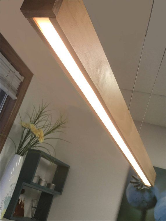 Linear Led Wood Light Fixture Featuring Rincon Power Hanging System In 2020 Wood Light Fixture Wood Ceiling Lights Linear Light Fixture