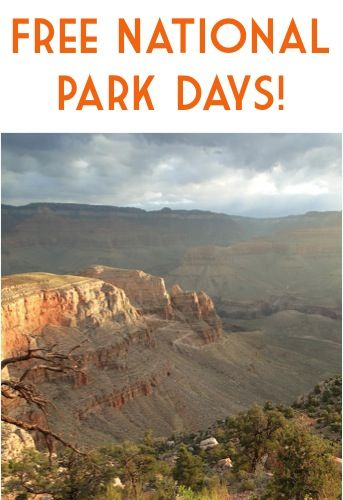 What is your favorite National Park? My family loves the Grand Canyon, Zion National Park, Bryce Canyon National Park and Sequoia National Park. Mark your calendars… you can get FREE Admission to 100+