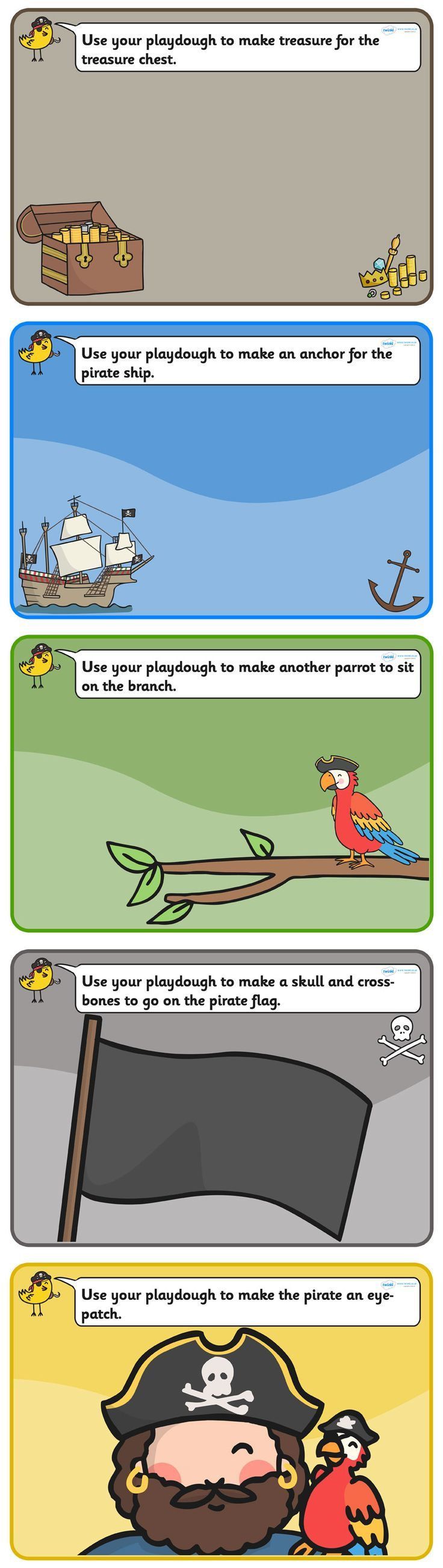 34 best Pirate Toddler Lesson Plans images on Pinterest | Pirate ...